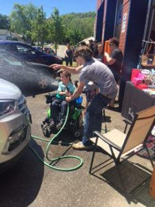 Shadamehr Swift Fundraiser Car Wash at Master Mechanic Grimsby