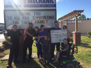 Master Mechanic Grimsby Shadamehr Swift Fundraiser