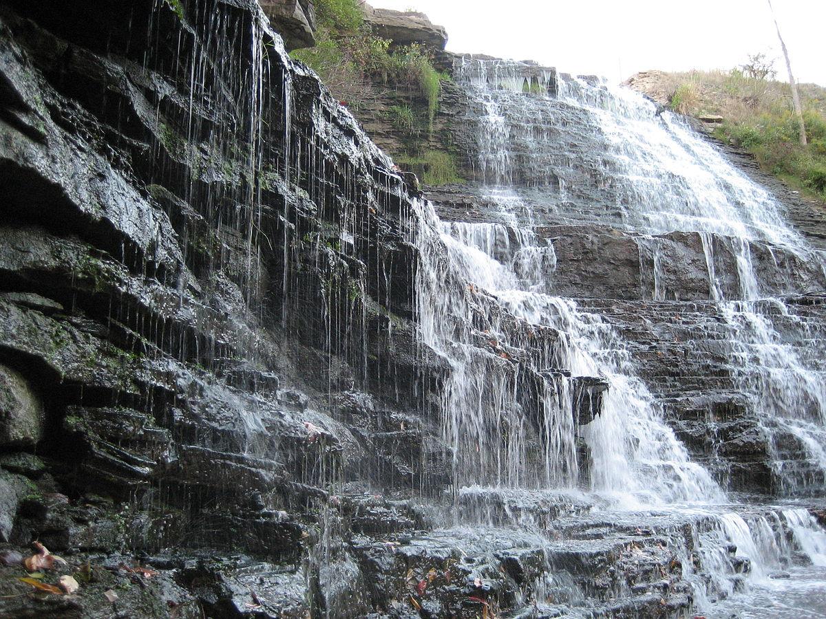 Albion Falls in Ontario