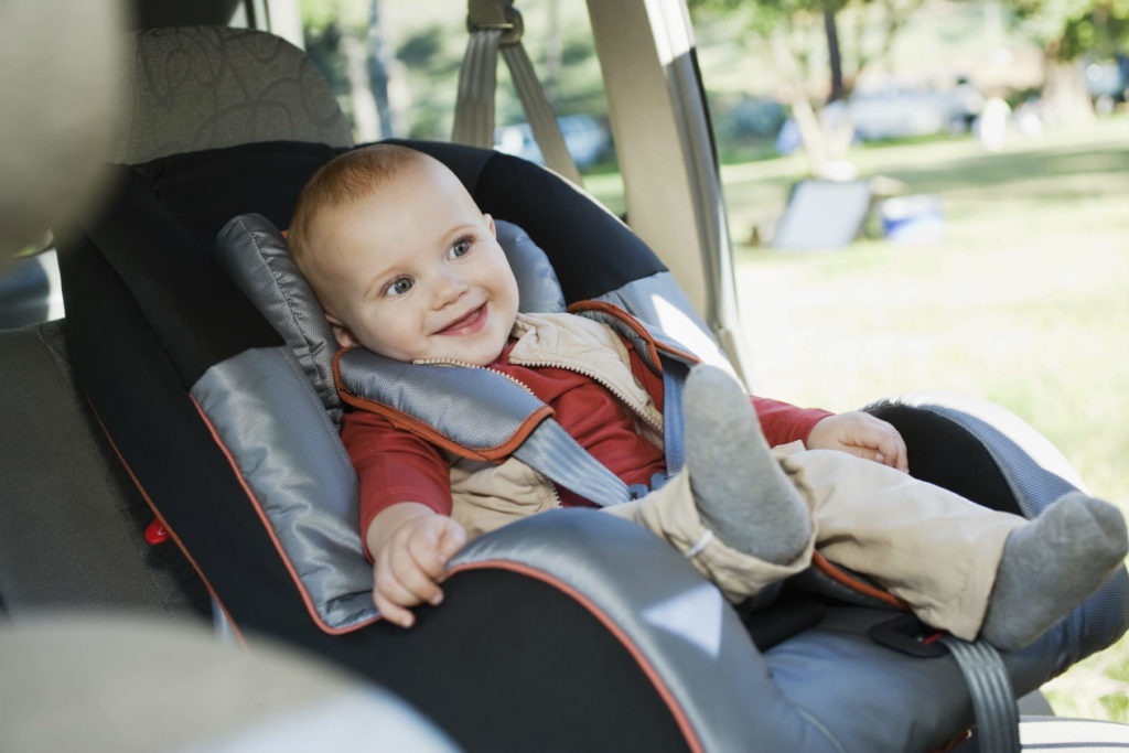 car seat requirements in Ontario