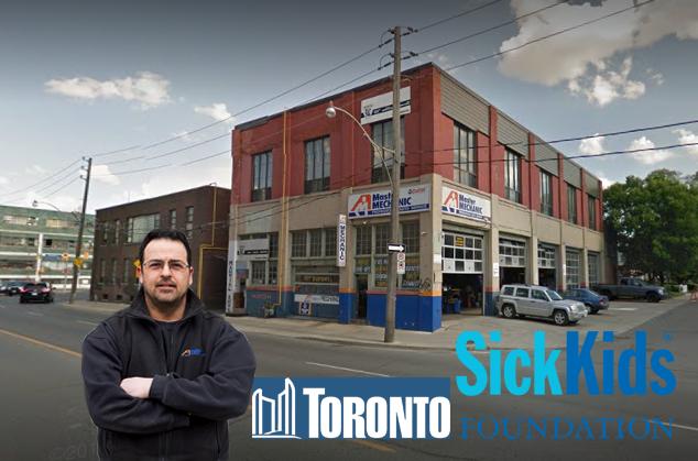 Master Mechanic Dupont Supports Sick Kids Foundation