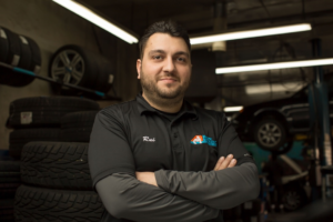 Rui Silvestre Technician of the Year from Canadian Auto Repair.