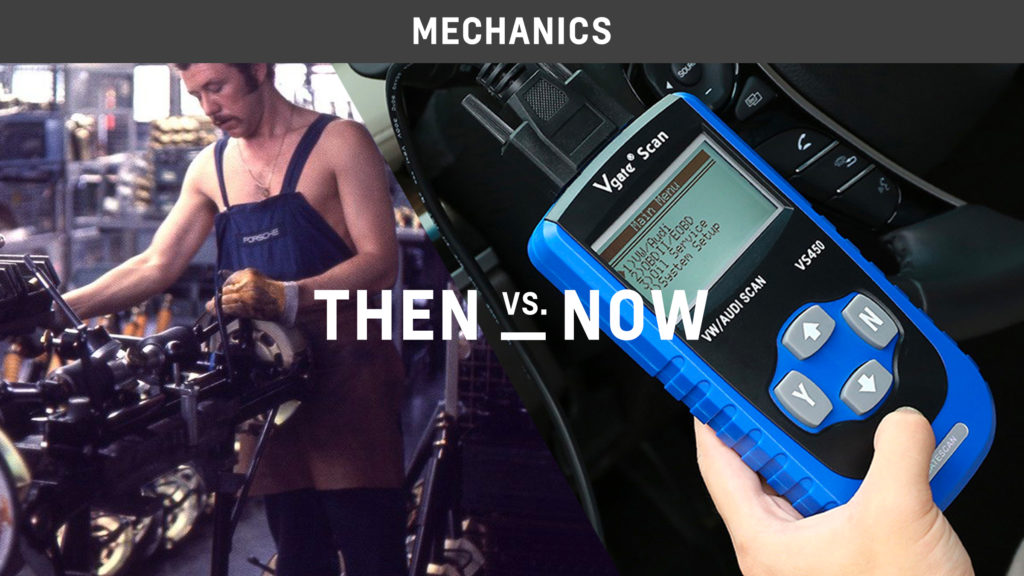 Mechanics Then vs. Now