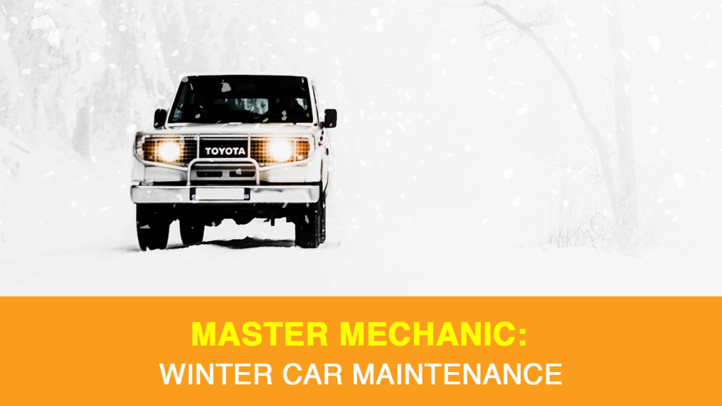 winter car maintenance tasks