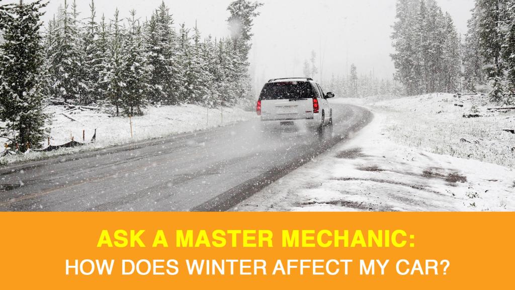 winter driving affect car