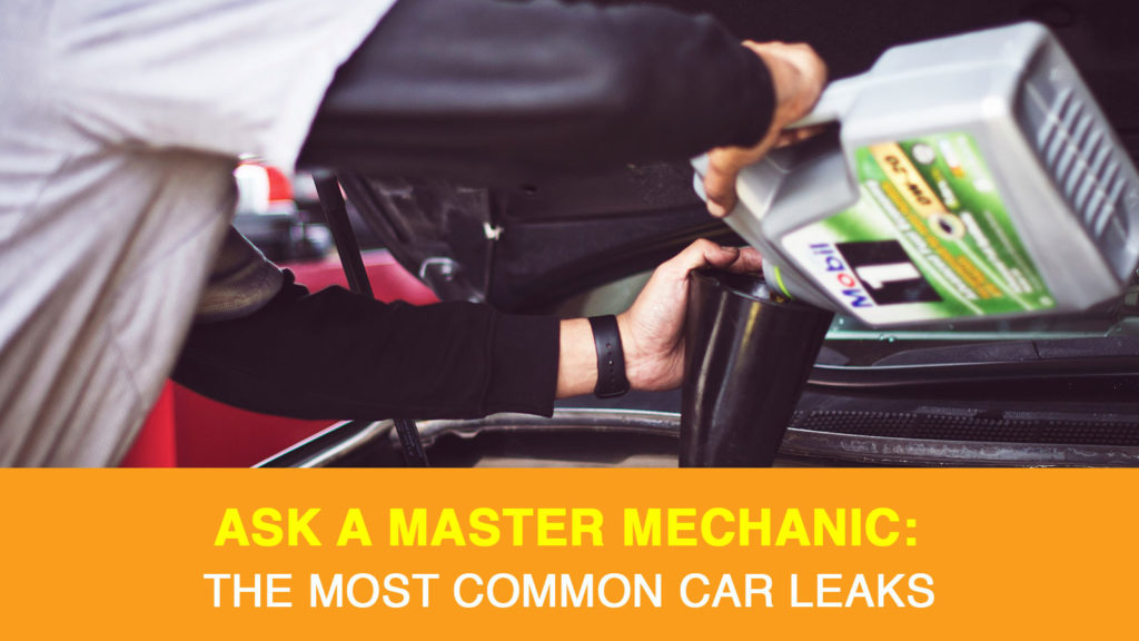 The Most Common Car Leaks