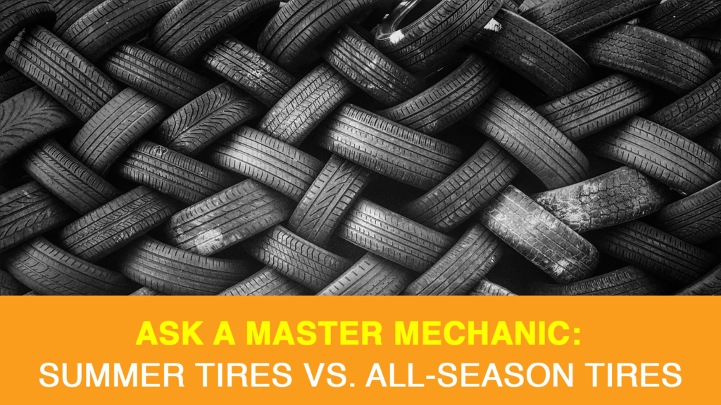 Summer Tires vs. All-Season Tires
