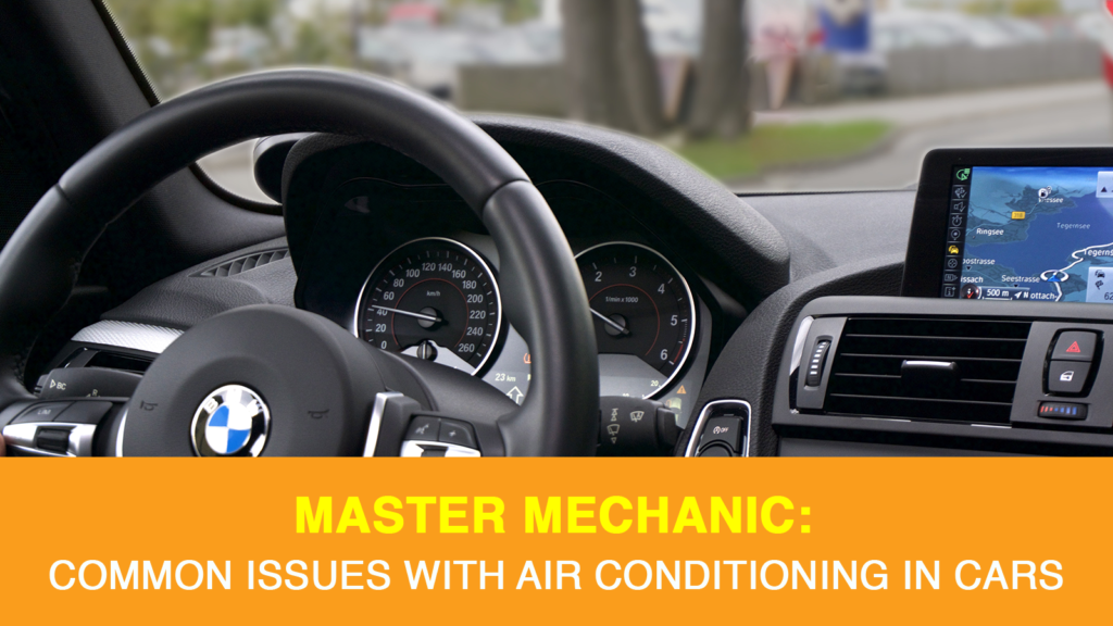 Common Air Conditioning Issues in Cars