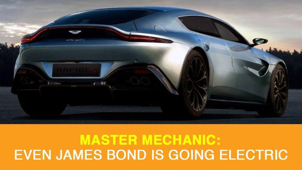 The Aston Martin Rapide E