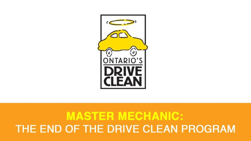 Ontario's Drive Clean Program