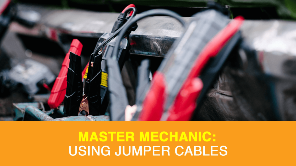 Using Jumper Cables on Your Car Battery