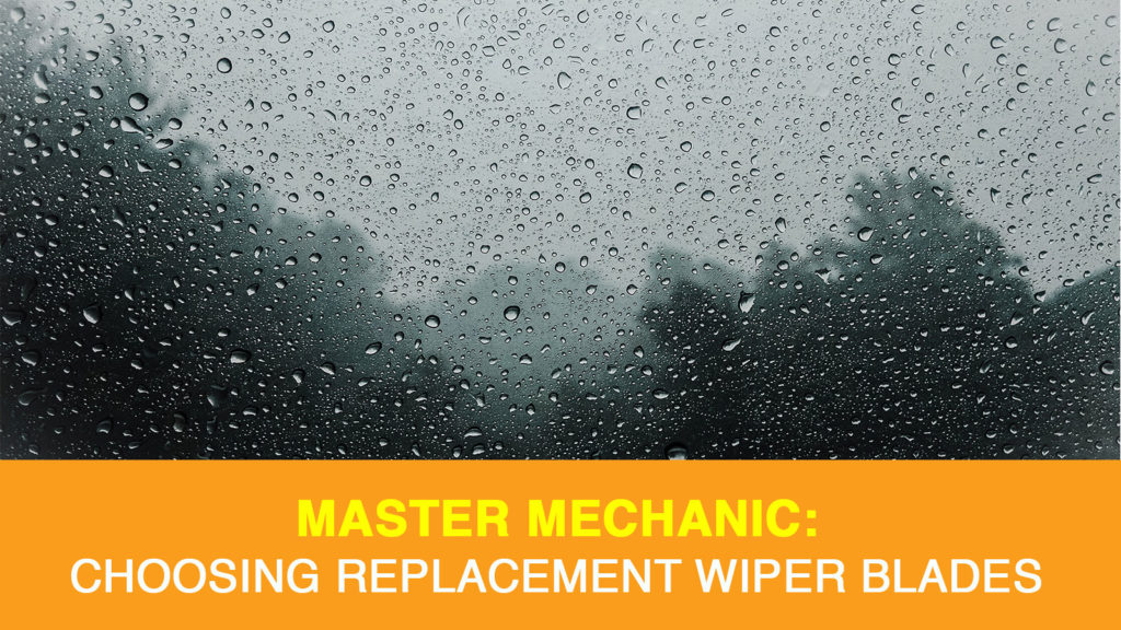 Choosing a replacement wiper blade