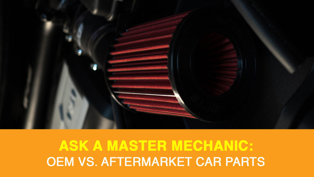 Looking at the difference between OEM and aftermarket parts