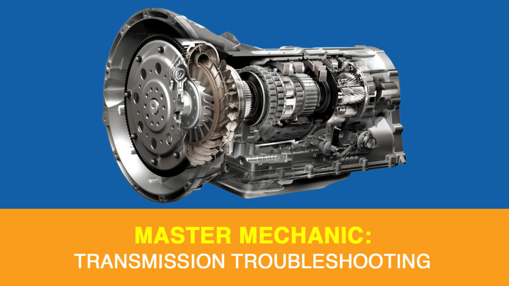 Troubleshooting a damaged transmission