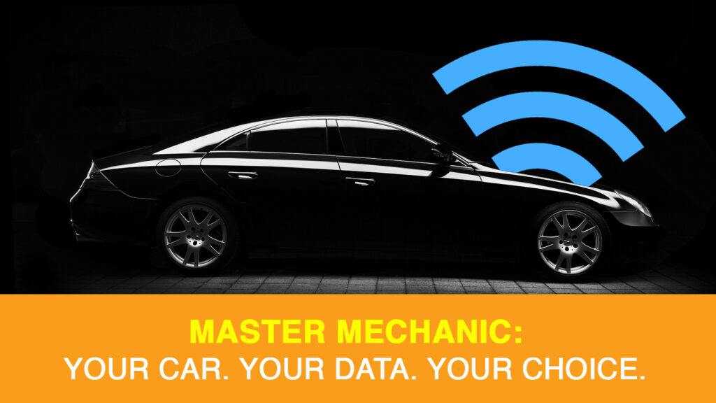 Your Car. Your Data. Your Choice. helps ensure drivers have access to their car data and understand what's being done with it.