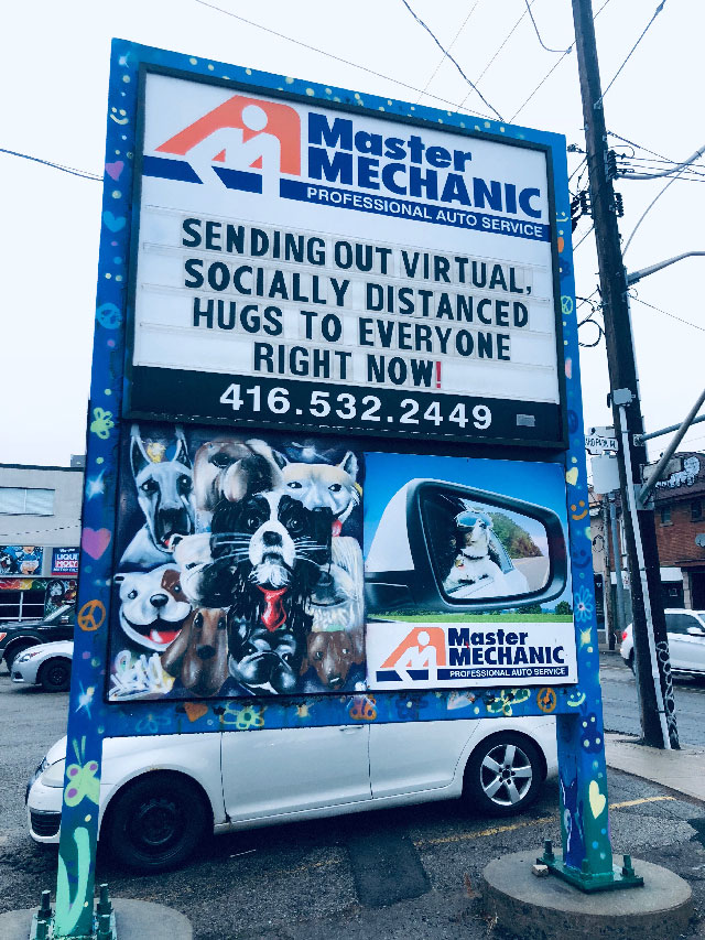 Master Mechanic High Park's Response to COVID-19